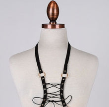 Lioness Lace Up Fashion Harness