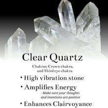 "Clear Quartz Crystal- ""The Master Healer"" -Use For Power, Energy & Clarity"