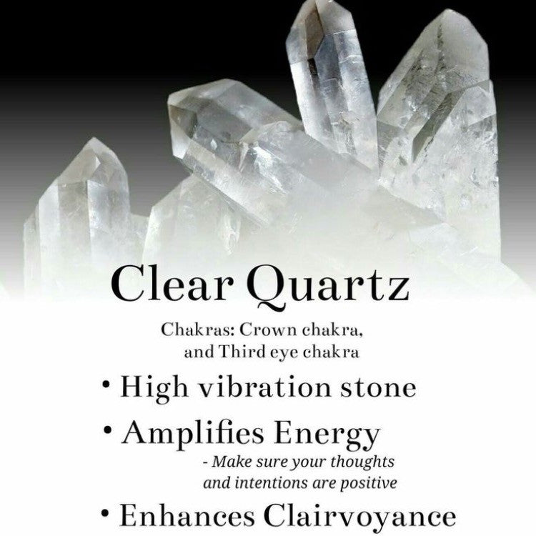 Clear Quartz Crystal-