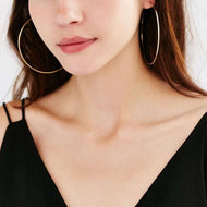 Hoop Dreams Silver Hoop Earrings