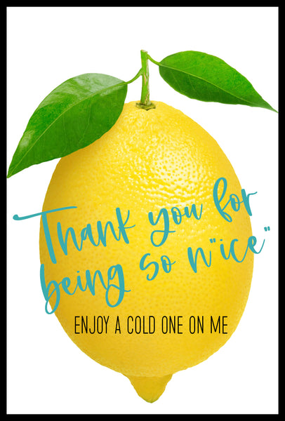 "Thank you for Being so N""ice"" Printable"