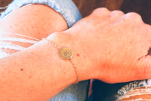 Handwritten Disc Bracelet