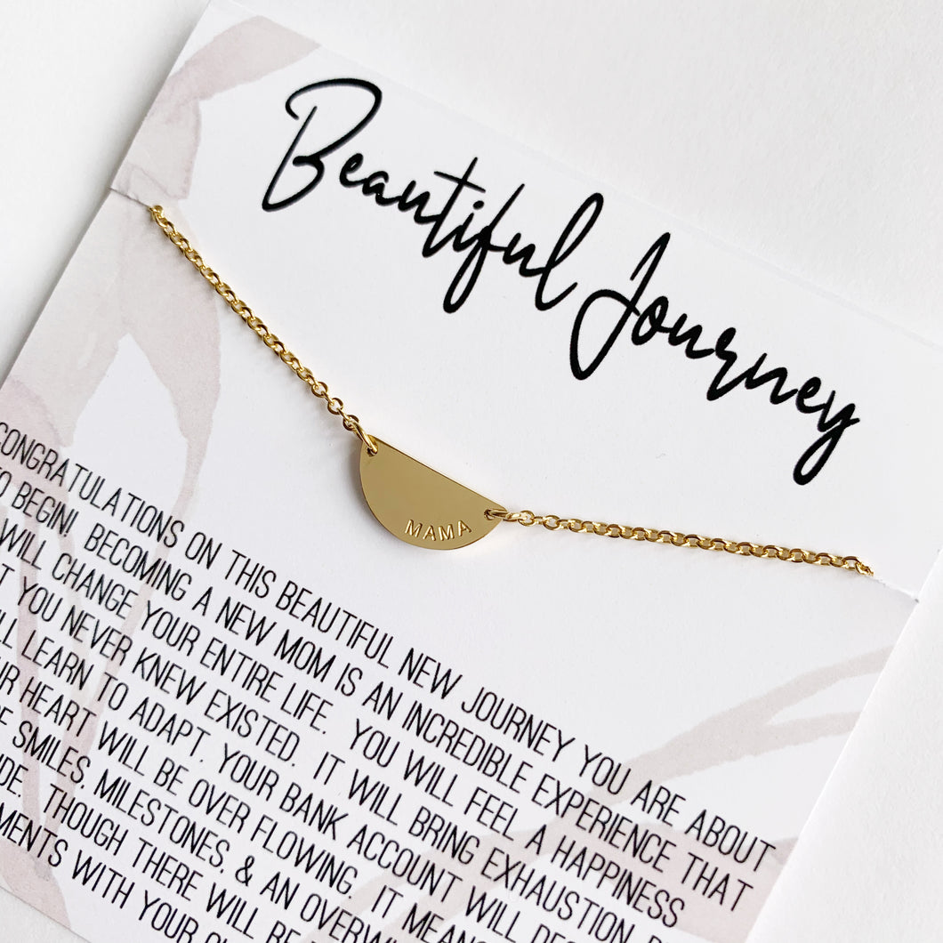 Beautiful Journey Necklace