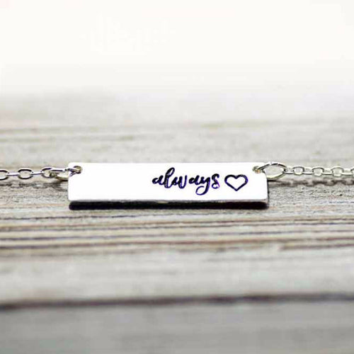 Always on My Mind, Forever In My Heart Necklace