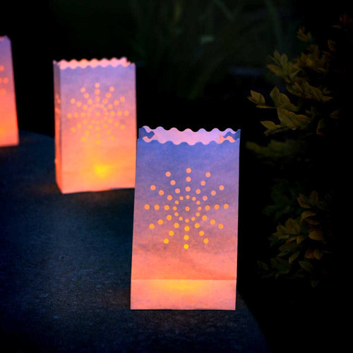 Starburst Paper Luminaries