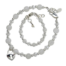 Mom and Me Bracelet Set - Key to Her Heart