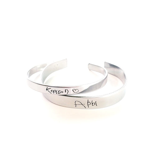 Handwriting Cuff