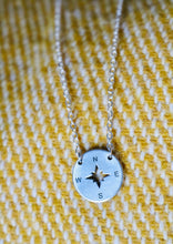 Handwritten Disc Necklace