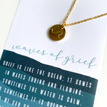 Waves of Grief Necklace