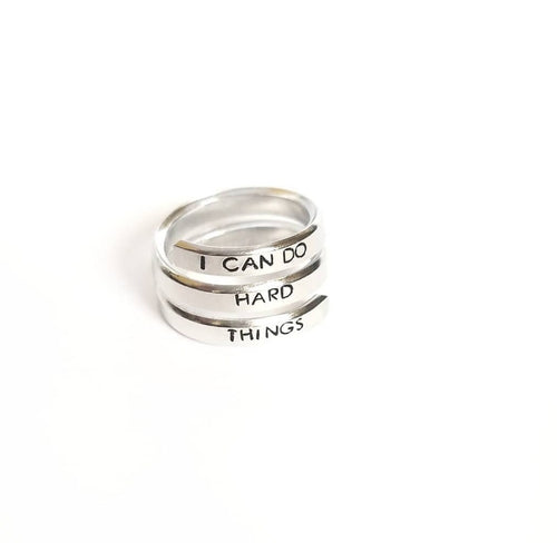 Skinny Triple Wrap Ring