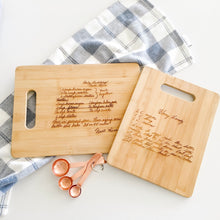 Handwriting Cutting Board