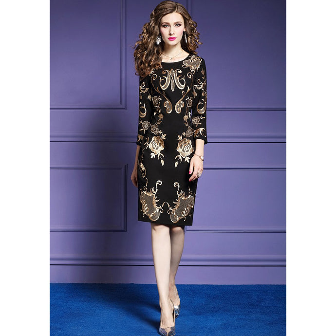 Tess Embroidery Party Dress
