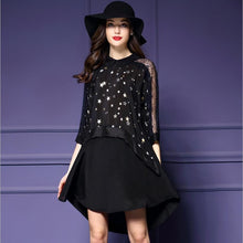 Lace Five-pointed Star Dress