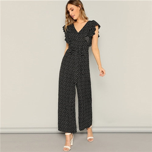 Backless Maxi Jumpsuit