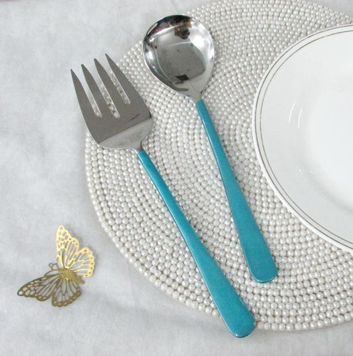 Royal Servers Turquoise  Set/2