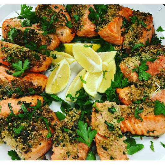 Chili & Coriander Roasted Salmon Fillets