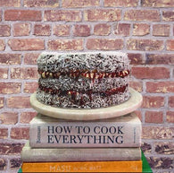 Chocolate Lamington Layer Cake - Gluten Free