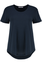 T Shirts - Bea Scoop Navy