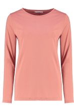T Shirts - Layla Crew Dusty Rose