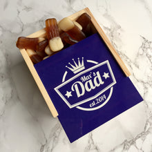Personalised Dads Box with sweets