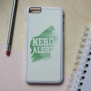 'Nerd Alert' iPhone Cover