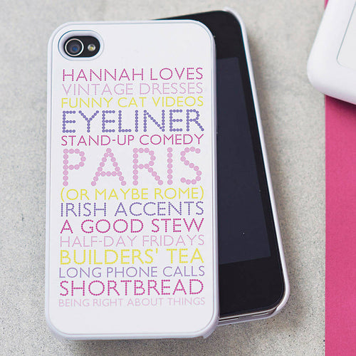 Personalised Case For iPhone