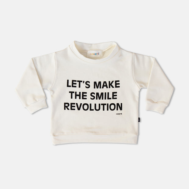 Smile Revolution Sweatshirt