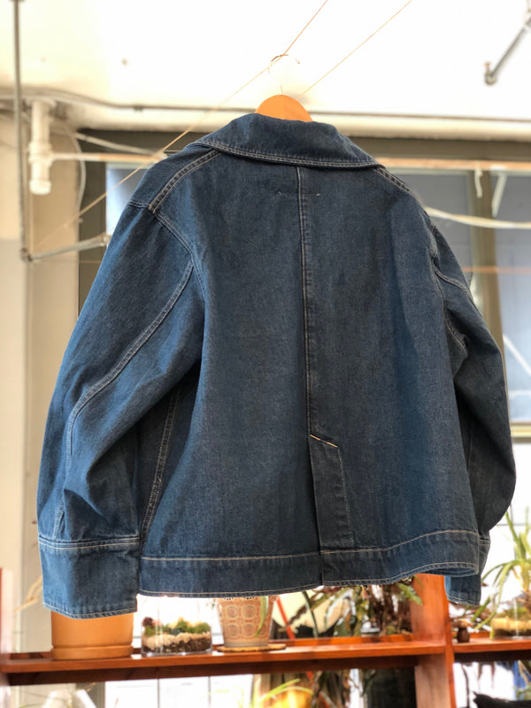 Stadium Jacket in Nancy Wash