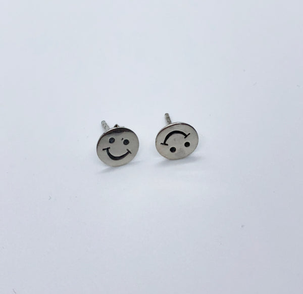 Happy Face Studs