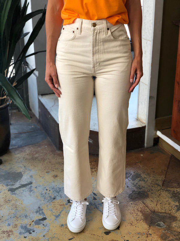 Plein Relaxed Straight Jean in Clair