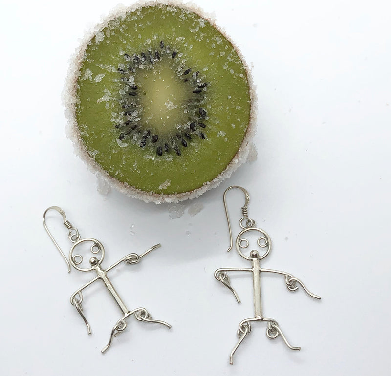 Stick Person Earrings