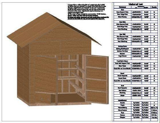 Chicken Coop Plan