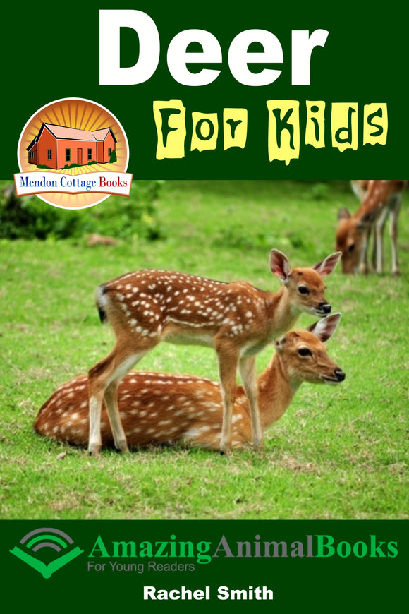 Deer For Kids Amazing Animal Books For Young Readers