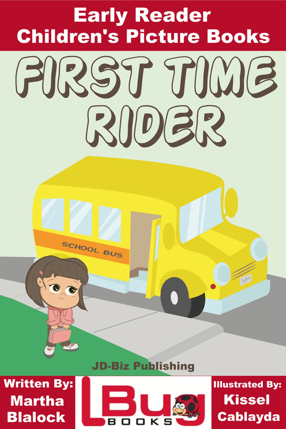 First Time Rider - Early Reader - Children's Picture Books