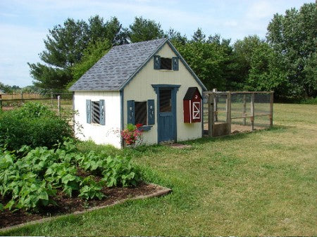 12 x 12 x 8 Garden Shed / Chicken Coop / Playhouse / Bunkhouse