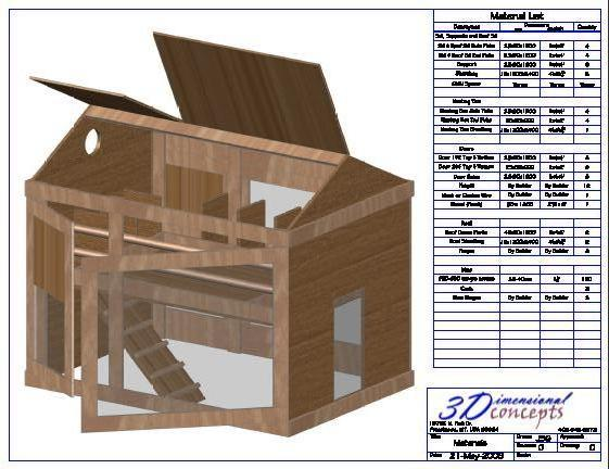 Hampton Redesign Chicken Coop Plan