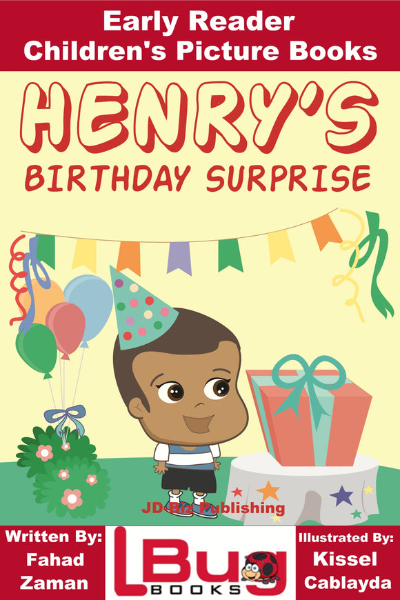 Henry's Birthday Surprise - Early Reader - Children's Picture Books