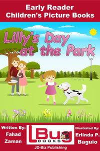 Lilly's Day at the Park - Early Reader - Children's Picture Books
