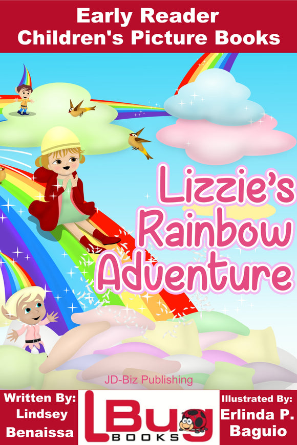 Lizzies's rainbow adventure - Early Reader - Children's Picture Books