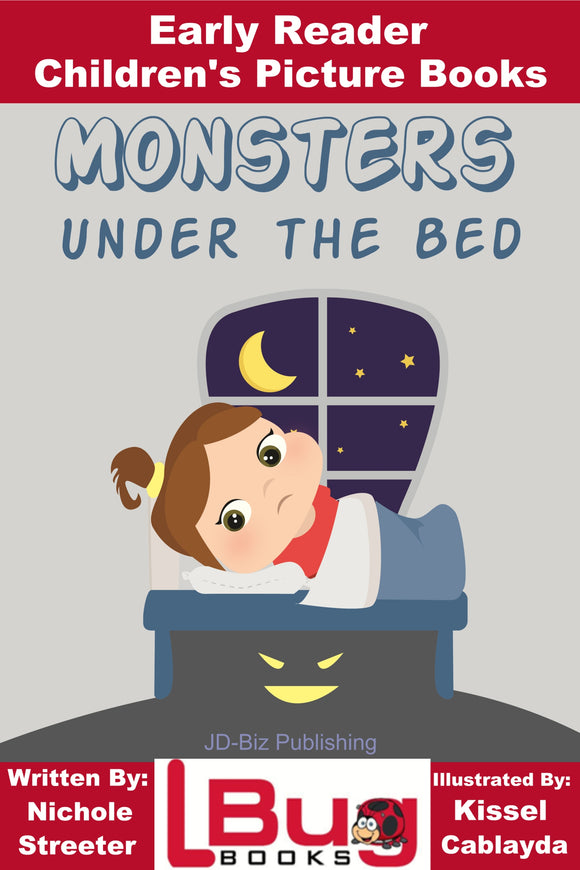Monster Under the Bed - Early Reader Children's Picture Books