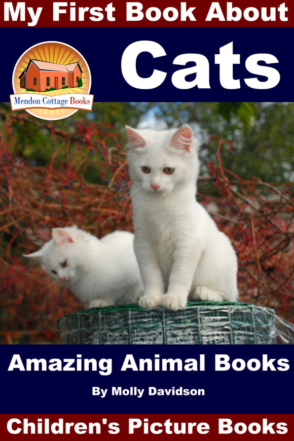 My First Book About Cats - Amazing Anial Books