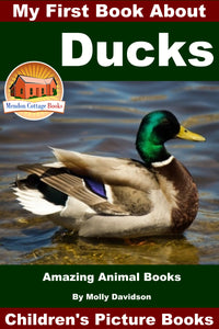 My First Book about Ducks - Amazing Animal Books