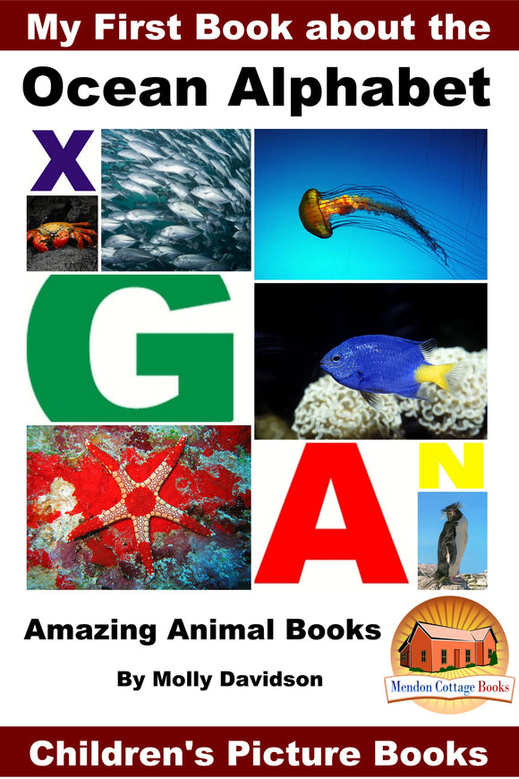 My First Book about the  Ocean Alphabet - Amazing Animal Books