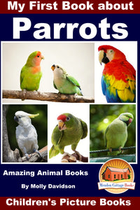 My First Book About Parrot - Amazing Animal Books
