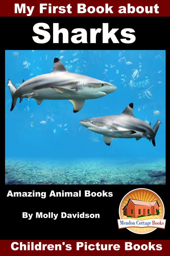 My First Book about Sharks - Amazing Animal Books
