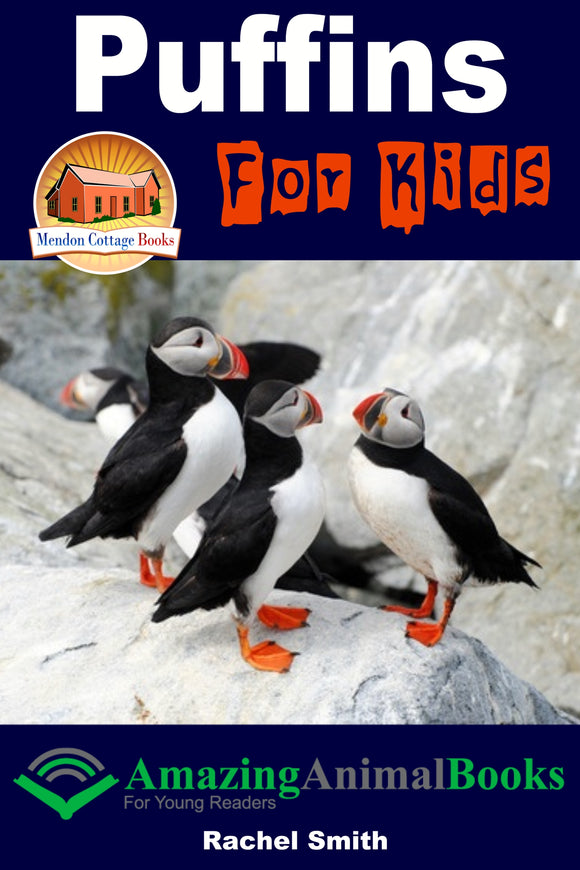 Puffins For Kids-Amazing Animal Books For Young Readers