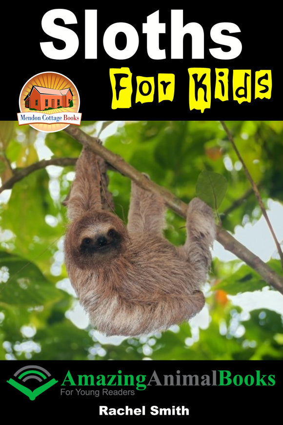 Sloths For Kids  Amazing Animal Books For Young Readers