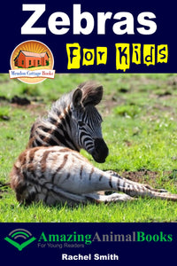 Zebras For Kids-  Amazing Animal Books For Young Readers