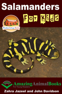 Salamanders For Kids - Amazing Animal Books for Young Readers