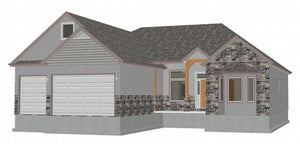 Country Cottage House Plans #h243